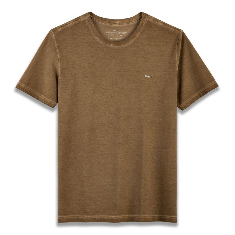 Camiseta Basic ECO - Tabaco