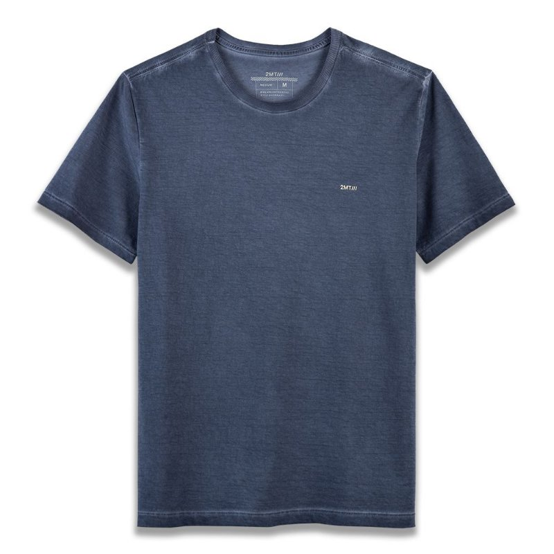 Camiseta Basic ECO - Azul Deep