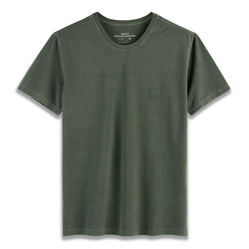 Camiseta Basic Stone - Floresta