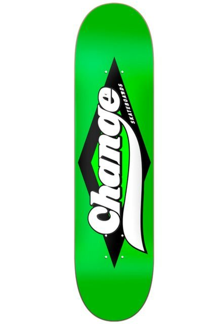Shape Change Skateboards Green 7.7