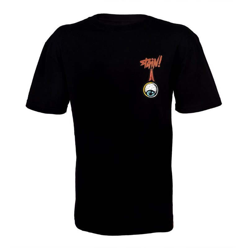 CAMISETA OPEN HEAD BLACK