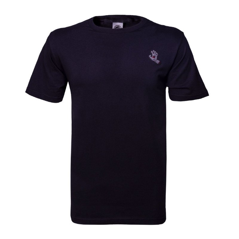 CAMISETA SANTA CRUZ SREAMING BOTTOM BLACK