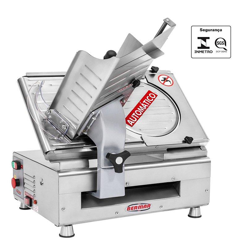 Cortador de Frios Inox Lâmina 300 mm Automático