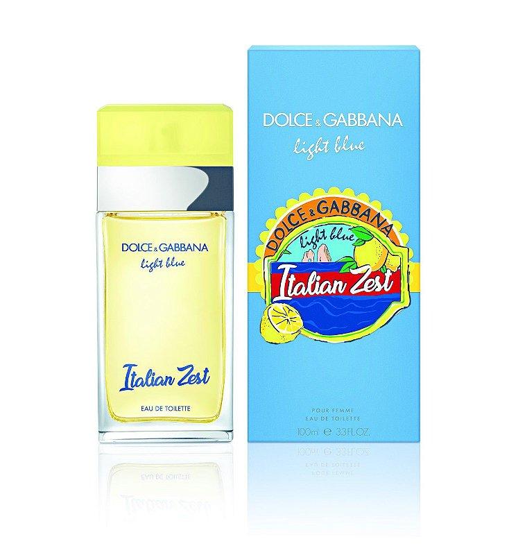 13ff3730cb5 Dolce   Gabbana Light Blue Italian Zest Feminino Eau De Toilette 100ML -  Pedidos Gym Imports