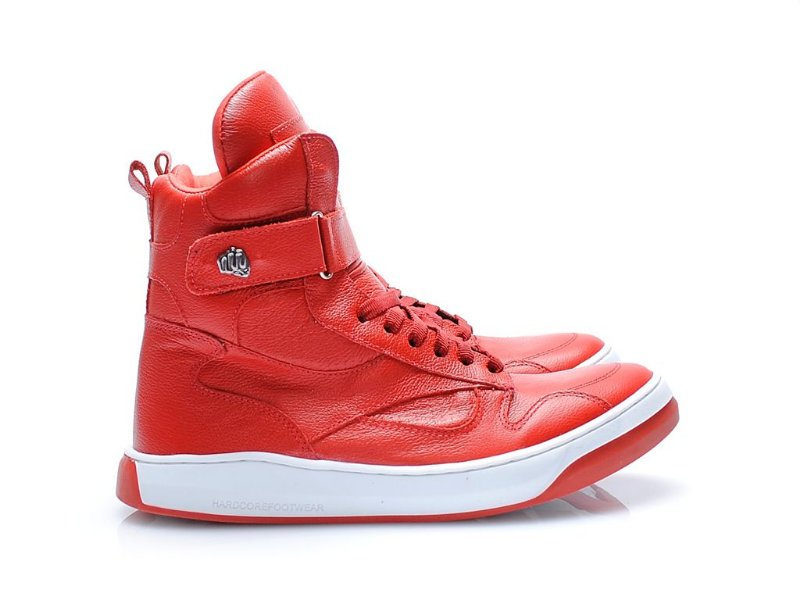 TENIS SLIM2 3723 - NAPA VERMELHA ALL RED
