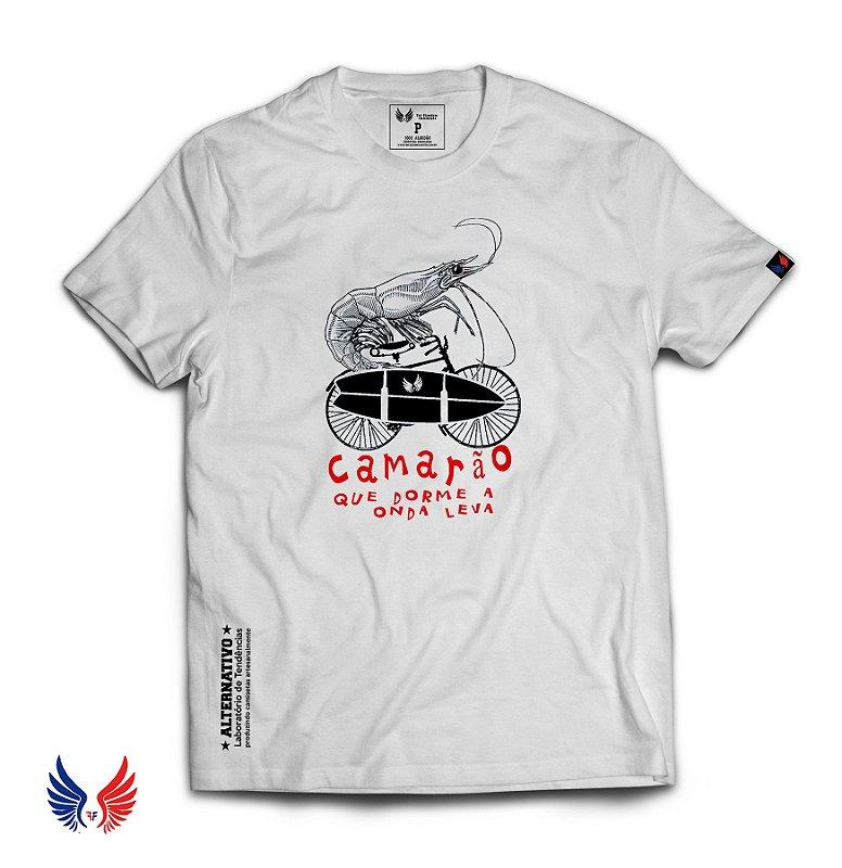 Camiseta Camarão que Dorme
