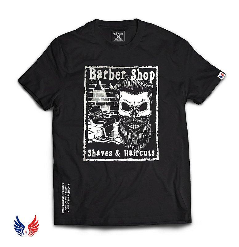 Camiseta Barber Shop For Freedom