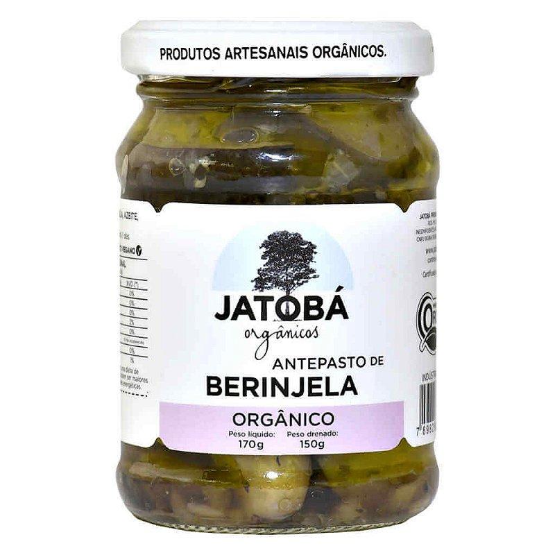 Antepasto de Berinjela Orgânico 170g - Jatobá