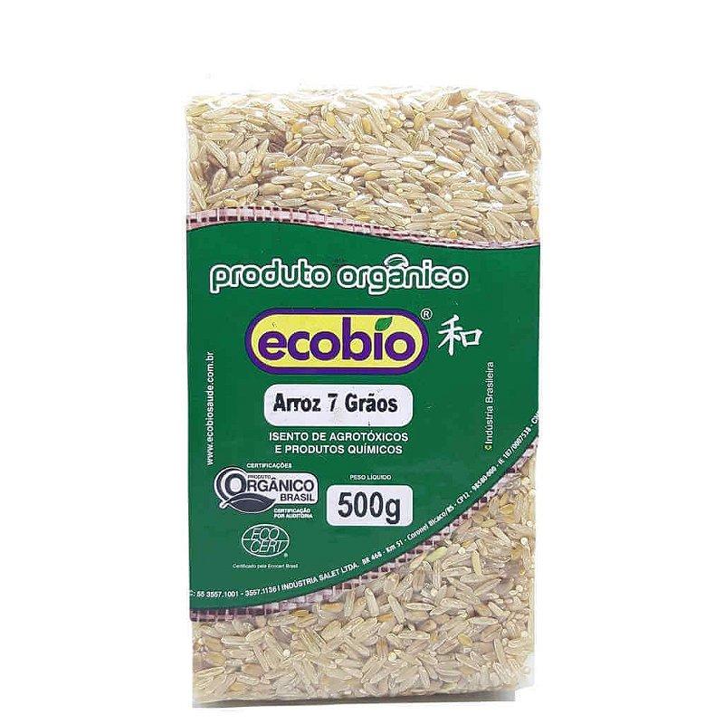 Arroz 7 Grãos Orgânico 500g - Ecobio