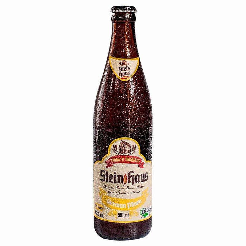 Cerveja Orgânica German Pilsen 500ml - SteinHaus