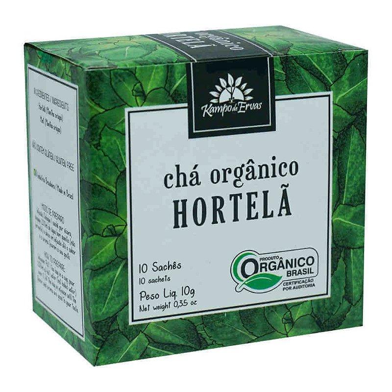 Chá de Hortelã Orgânico 10 sachês - Kampo de Ervas