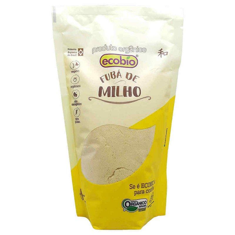 Fubá Orgânico (Farinha de Milho) 400g - Ecobio