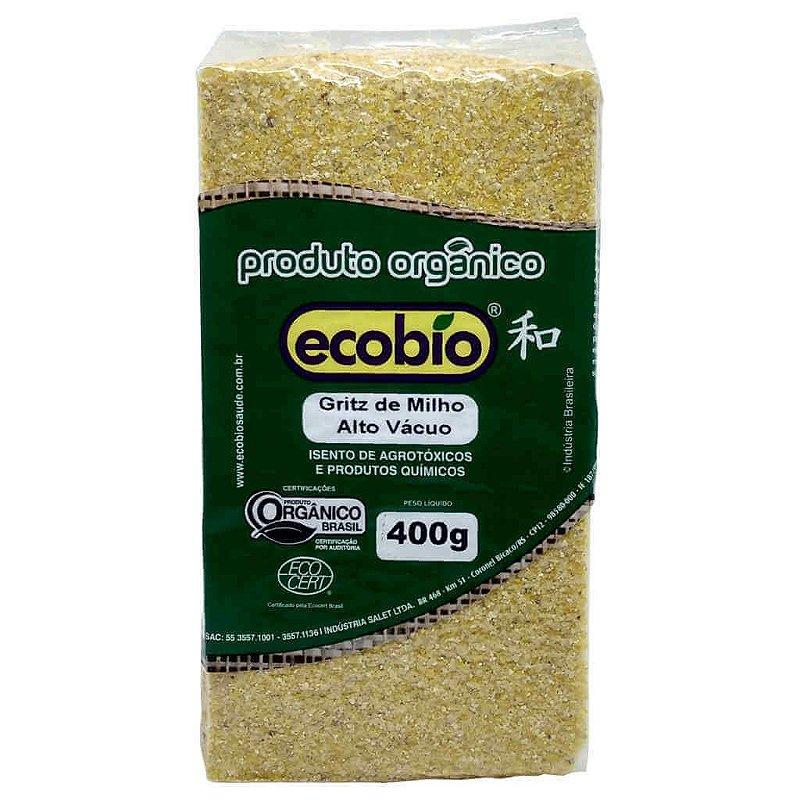 Gritz de Milho Orgânico 400g - Ecobio