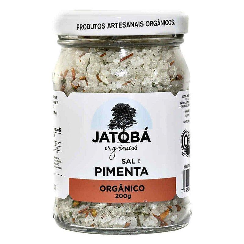 Sal, Ervas e Pimenta Orgânica 200g - Jatobá