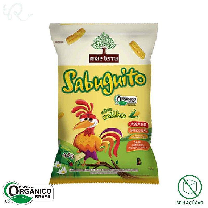 Sabuguito Salgadinho Orgânico Milho 45g - Mãe Terra