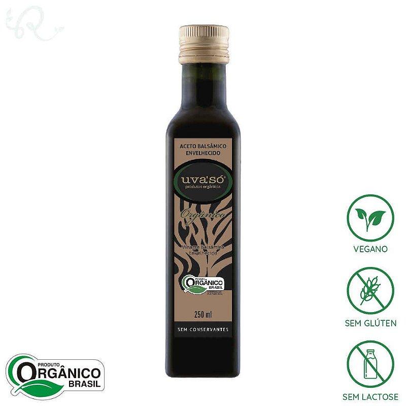 Vinagre Balsâmico Envelhecido Orgânico 250ml - Uva'Só
