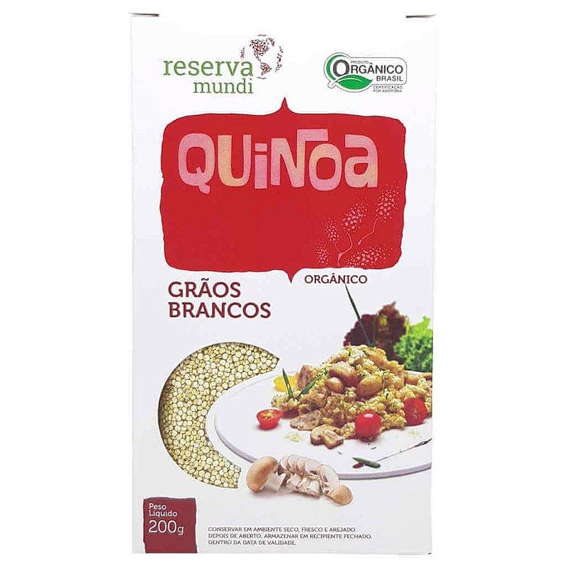 Quinoa Orgânica Branca em Grãos 200g - Mundo da Quinoa