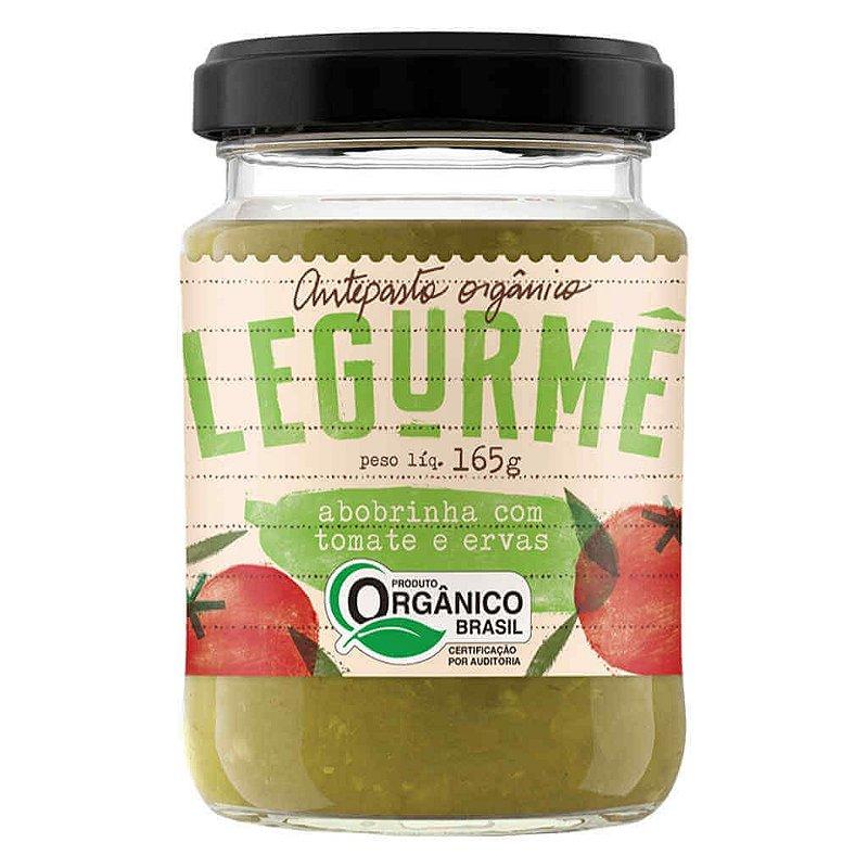 Antepasto Orgânico de Abobrinha com Tomate e Ervas 165g - Legurmê