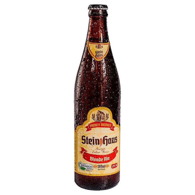 Cerveja Orgânica Blonde Ale 500ml - SteinHaus