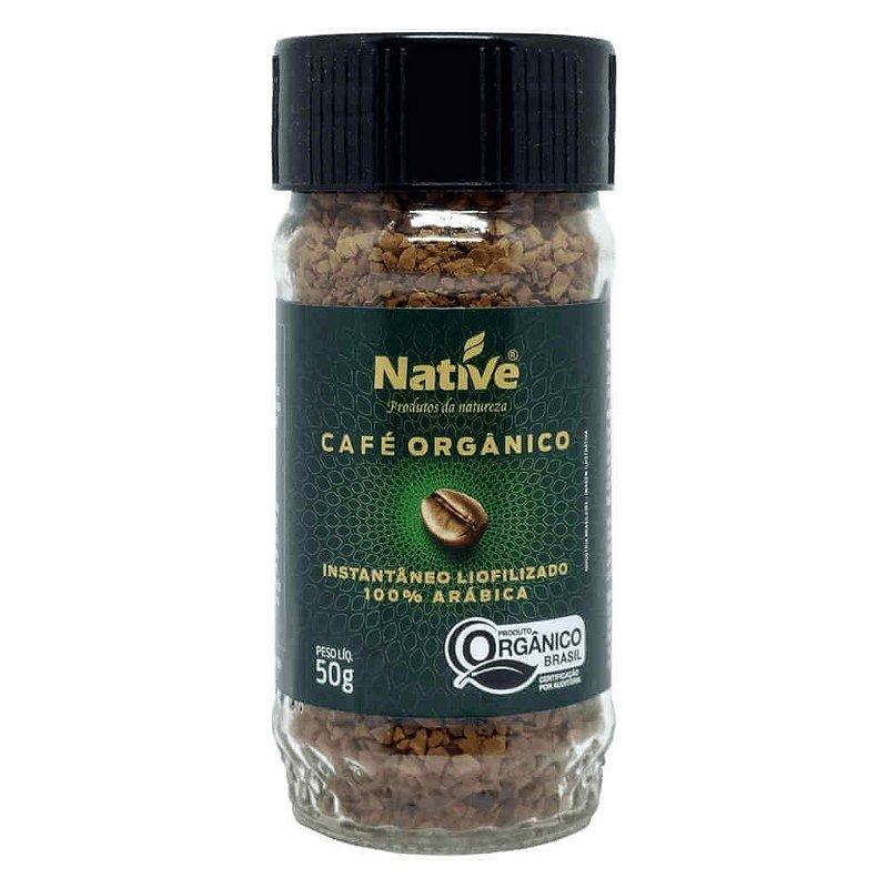 Café Liofilizado Solúvel Instantâneo Orgânico 50g - Native