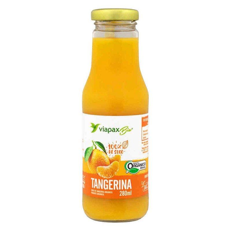 Suco Orgânico de Tangerina 280ml - Viapax Bio