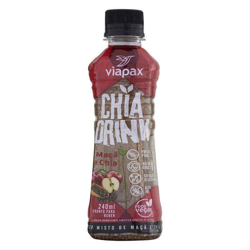 Suco de Maçã com Chia (Chia Drink) 240ml - Viapax Bio