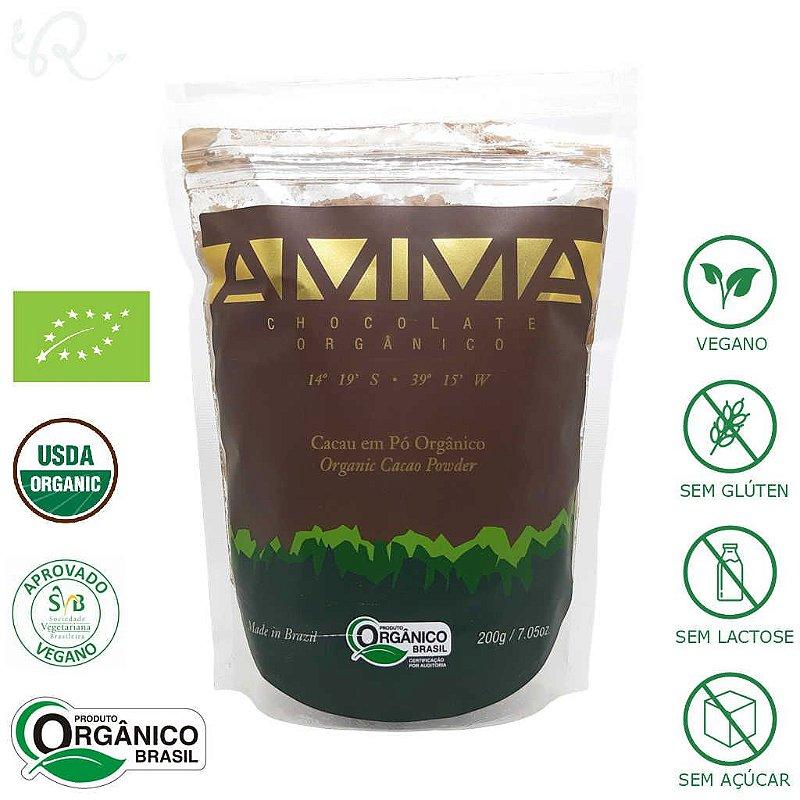 Cacau em Pó Orgânico 200g - Amma Chocolate
