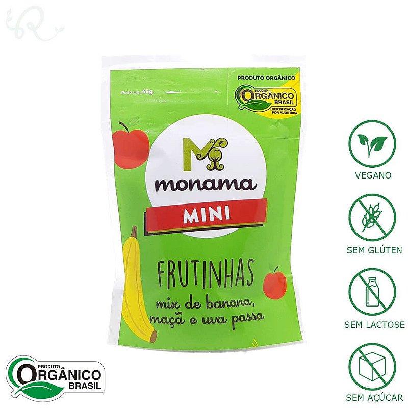 Frutas Desidratadas Orgânicas Mini 30g - Monama