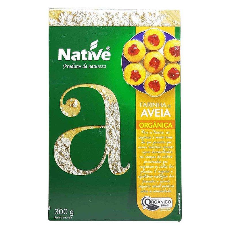 Farinha de Aveia Orgânica 300g - Native