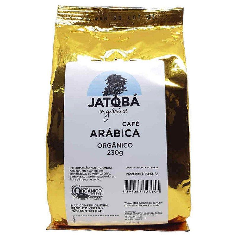 Café Orgânico Arábica Torrado e Moído 230g - Jatobá