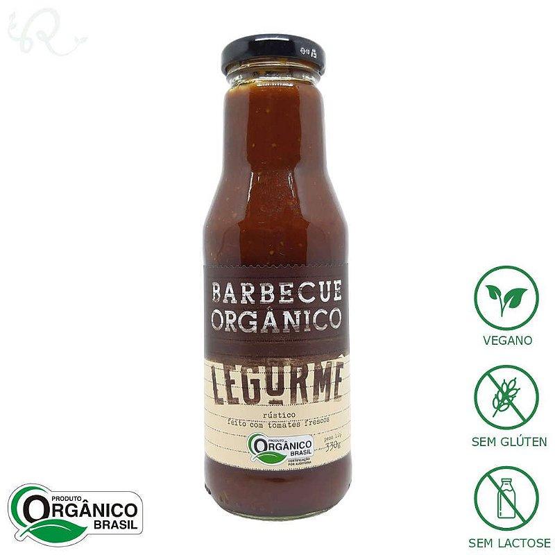 Molho Barbecue Pronto Orgânico 330g - Legurmê