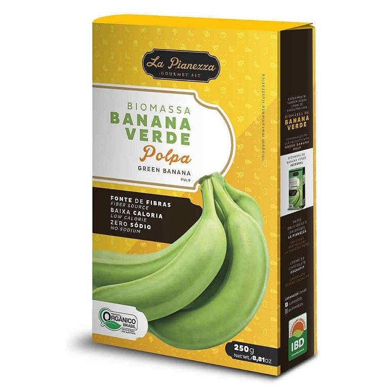 Biomassa de Banana Verde Orgânica Polpa 250g - La Pianezza