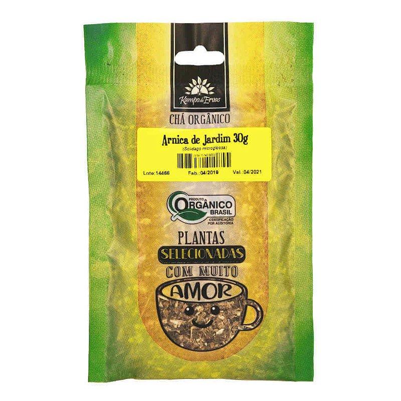 Chá de Arnica de Jardim Orgânico 30g - Kampo de Ervas