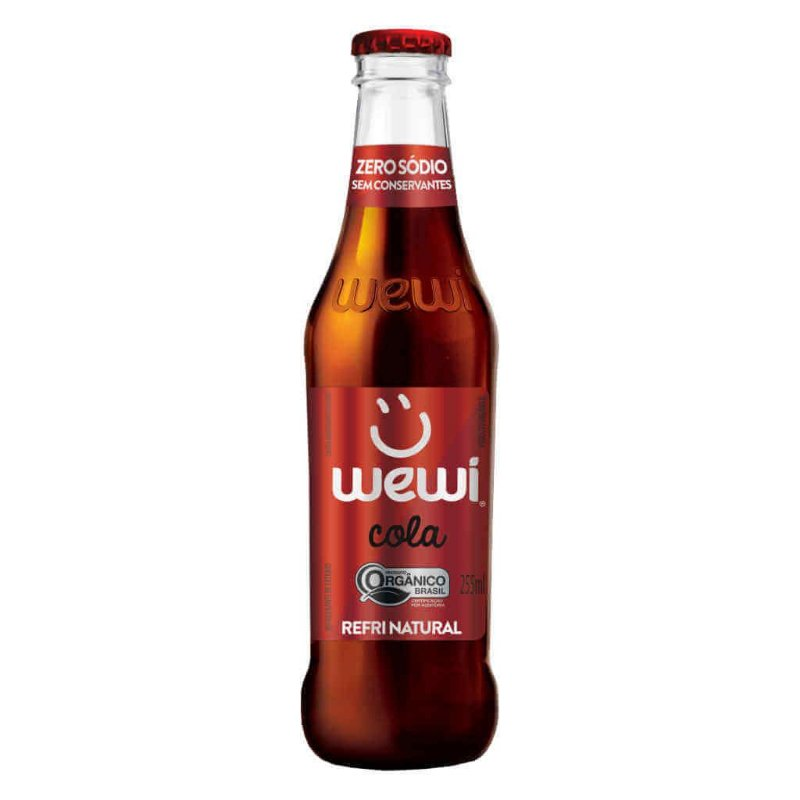 Refrigerante Wewi Cola Orgânico 255ml - Wewi