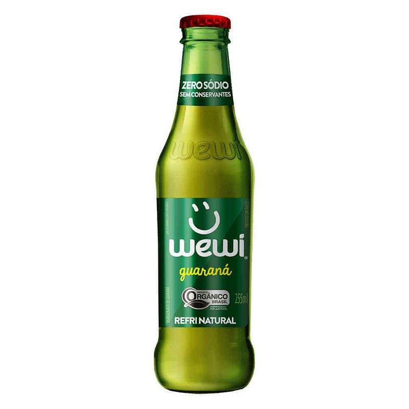 Refrigerante Wewi Guaraná Orgânico 255ml - Wewi
