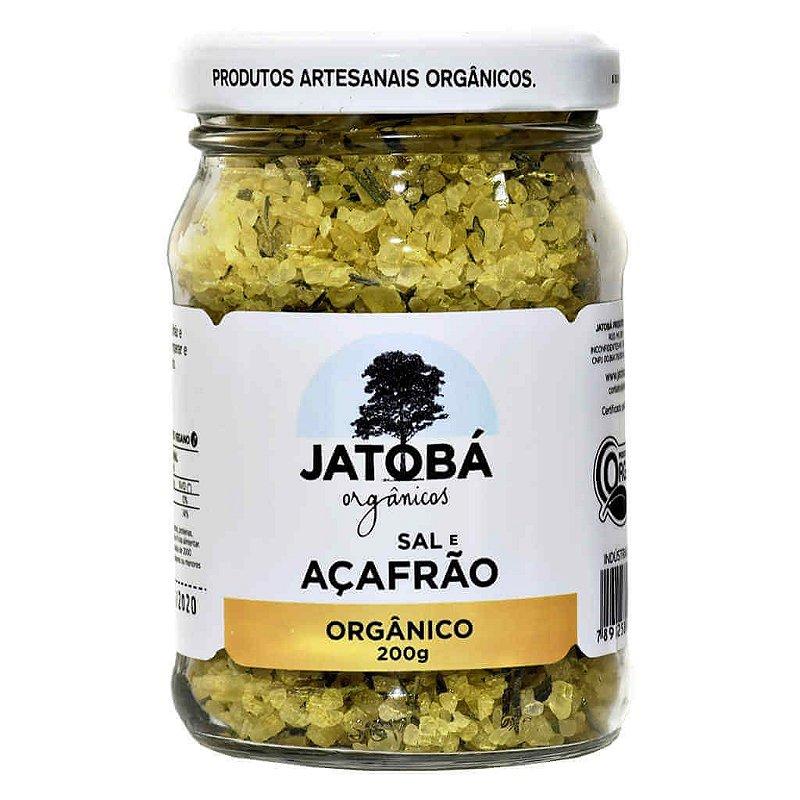 Sal Temperado com Açafrão Orgânico 200g - Jatobá