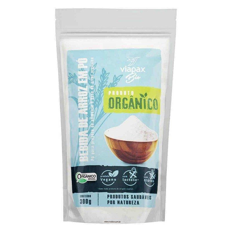 Bebida Vegetal de Arroz em Pó Orgânica 300g - Viapax Bio