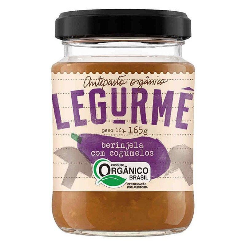 Antepasto Orgânico de Berinjela com Cogumelos 165g - Legurmê