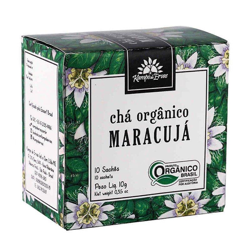 Chá de Maracujá Orgânico 10 sachês - Kampo de Ervas