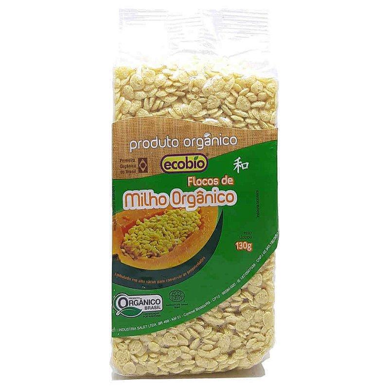 Flocos de Milho Orgânico 130g - Ecobio