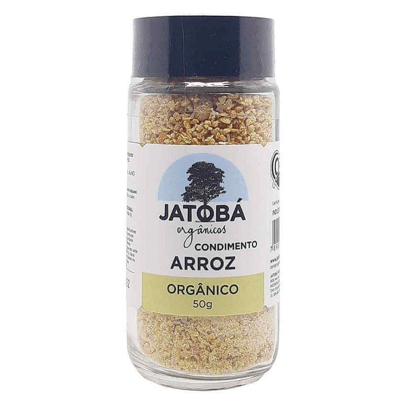 Tempero para Arroz Orgânico 50g - Jatobá
