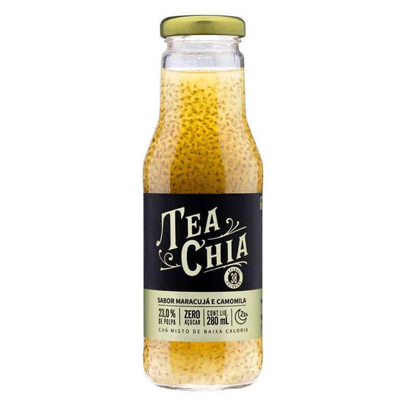 Bebida Tea Chia Chá de Maracujá com Camomila 280ml - Viapax Bio