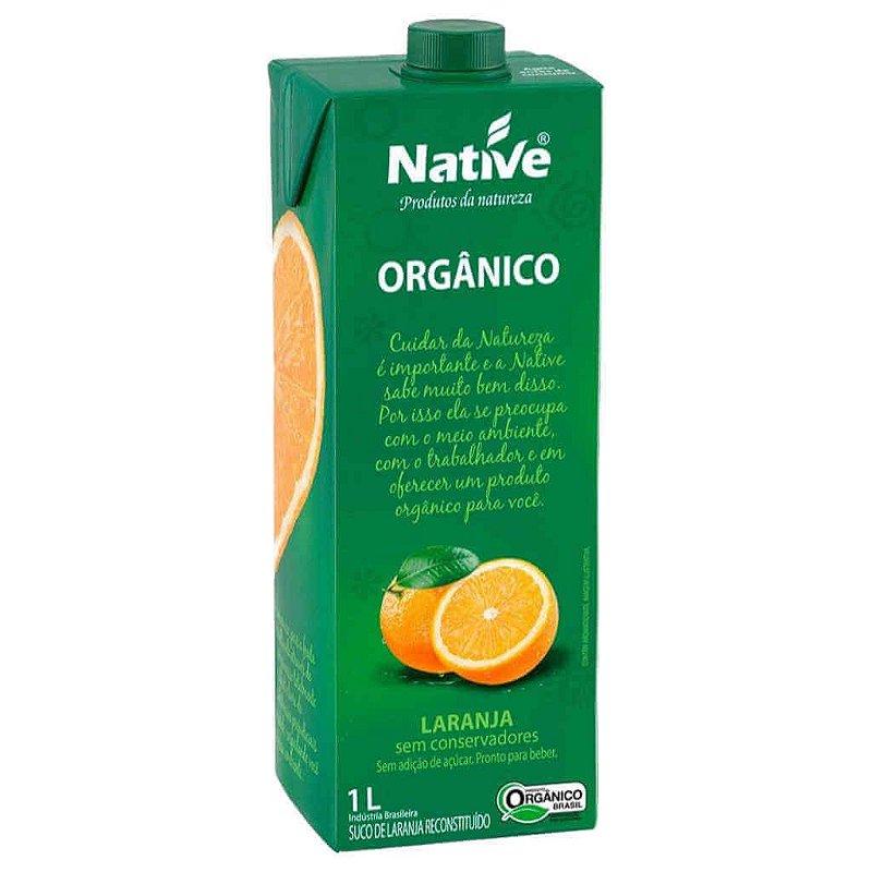 Suco de Laranja Natural Orgânico 1L - Native