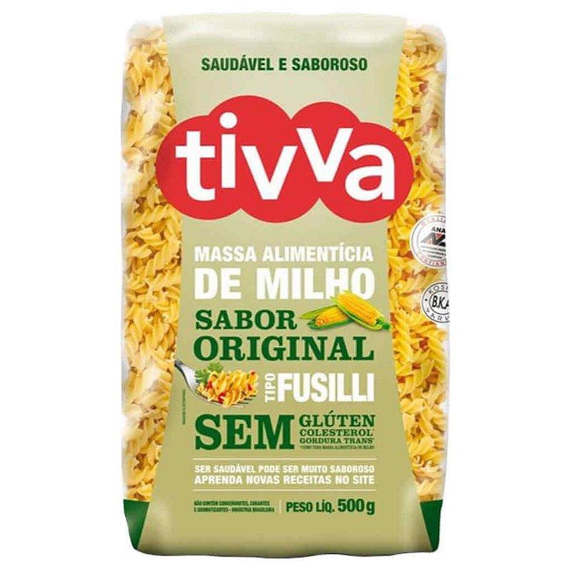 Macarrão Sem Glúten de Milho tipo Fusilli 500g - Tivva