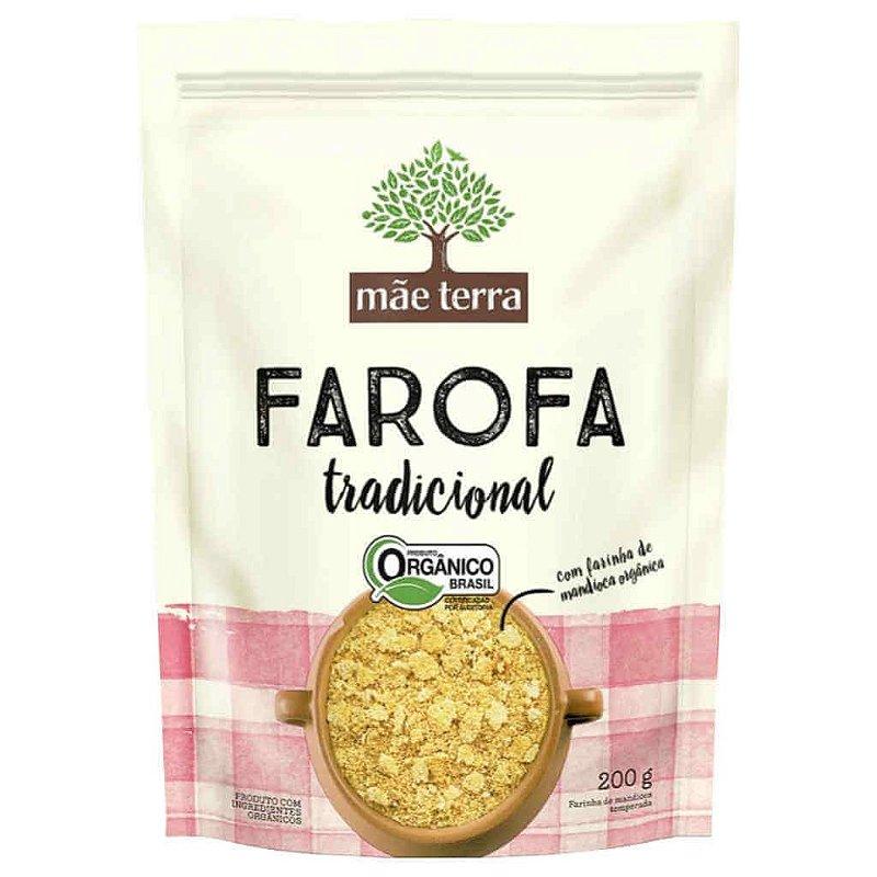 Farofa Orgânica Tradicional 200g - Mãe Terra (PRÓXIMO AO VENCIMENTO)