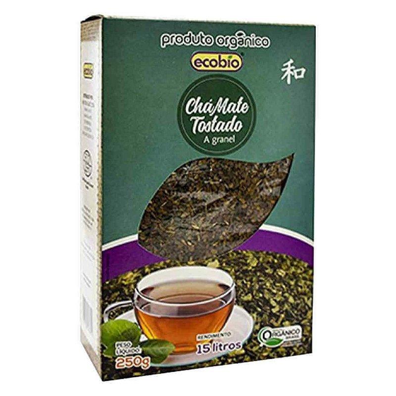 Chá Mate Tostado Orgânico Granel 250g - Ecobio