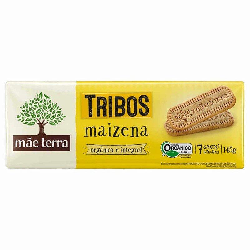 Biscoito Maizena Orgânico Tribos 145g - Mãe Terra