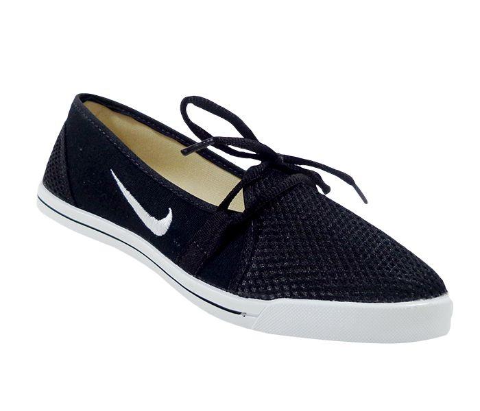 4aefdd9ac80 Sapatilha Feminina Nike Veludo Preto - sandramodas