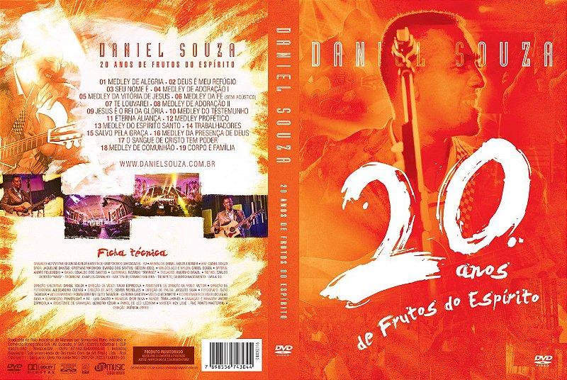 DVD 20 anos frutos do Espírito
