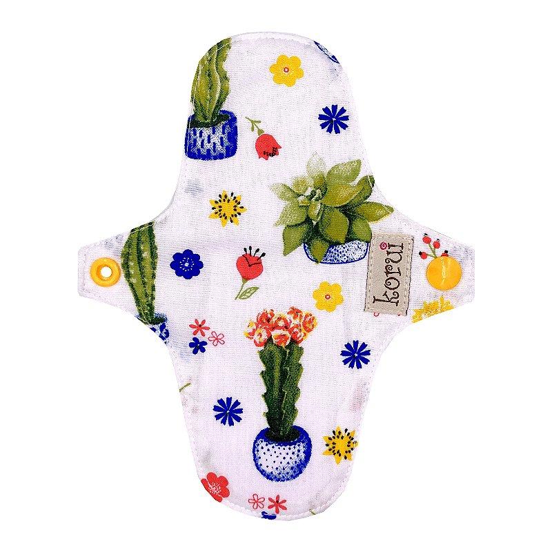 Protetor de Calcinha com abas - Cactus